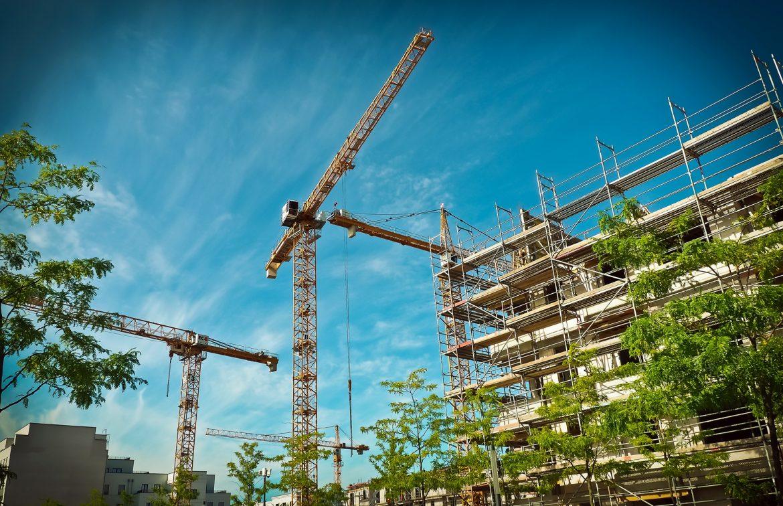cantiere per la ristrutturazione
